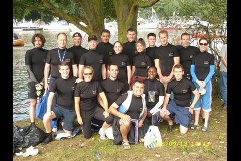 The Hill team at London's River Marathon